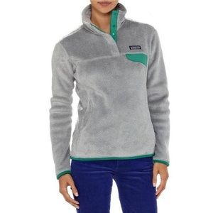 Patagonia Retro Re Tooled Snap Tee Fleece Pullover